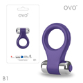 Ovo B1 Vibrating Ring 前衛時尚震動環(紫)